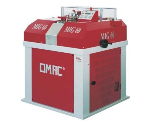 Машина для автоматической горизонтальной зачистки и полировки кромок и носика OMAC MIG 60, Италия