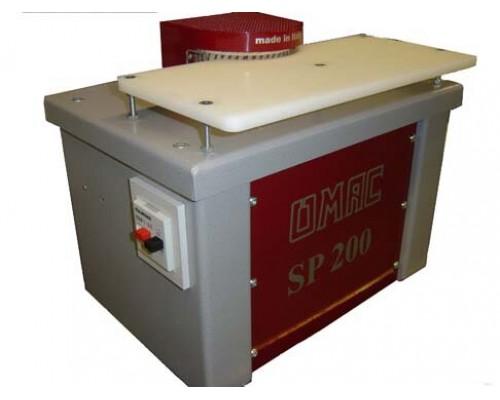 Настольная машина для зачистки и полировки кромок и носика OMAC SP 200, Италия