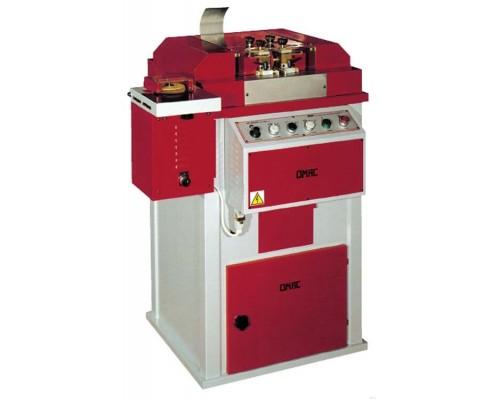 Машина для подрезки (триммер), округления и полировки кромок ремней OMAC 800 RAL, Италия
