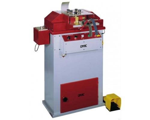 Машина для дублирования / подрезки (триммер) и округления кромок ремней OMAC 820, Италия