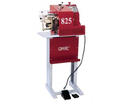 Вертикальная машина для дублирования / подрезки (триммер) и округления кромок ремней OMAC 825, Италия