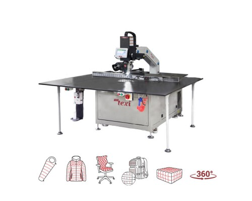 TEXI FREE 360 LF 150х90 Программируемая швейная машина