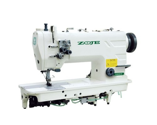 Двухигольная машина челночного стежка ZOJE ZJ 8420A (расст. м/д игл 46-47 мм) (комплект)