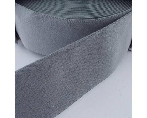 Резинка 20 мм, ткацкая, арт. 2020, 25 м, серая