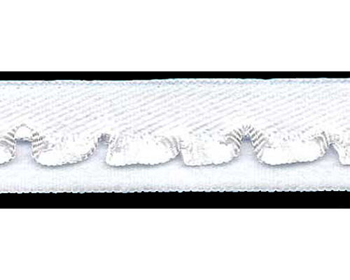 Резинка бельевая 15 мм, арт. 3003-15, белая, уп. 100 м