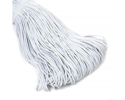 Резинка шляпная, 4 мм, белая