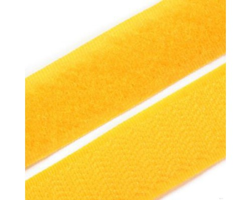 Лента контактная 20 мм, лимонный, рулон 25 м, КНР