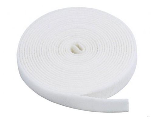 Лента петельная 50 мм, белая, рулон 25 м, КНР