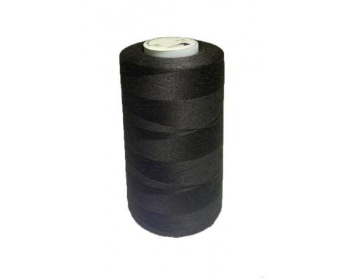 Нитки 30/2, 5000 ярд, AbsoluteThread, черные