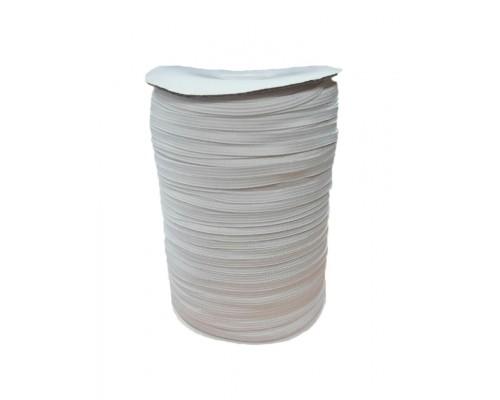 Резинка 6 мм, вязаная, катушка 300 м, белая