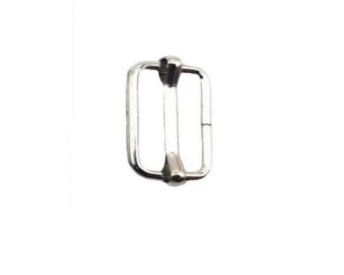Пряжка 20х13 мм регулировочная, никель