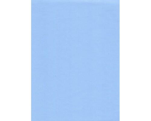 Ткань CVC Стрейч, 160 г/м2, голубой (арт. №103) шир. 150 см