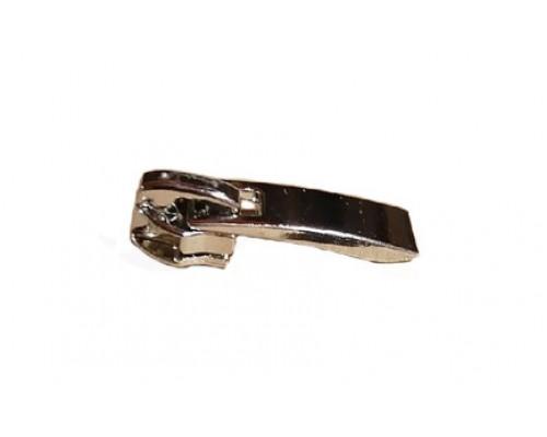 Бегунок для спирали Т-7 (обувной), декор(А) V75, никель (100шт)