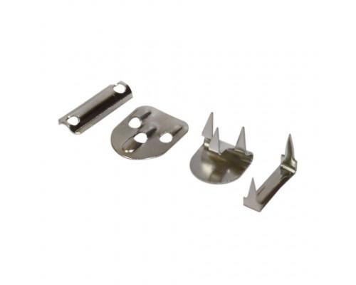 Крючок брючный из 4 ч./ 3 шипа, 18 мм, никель, 100 шт