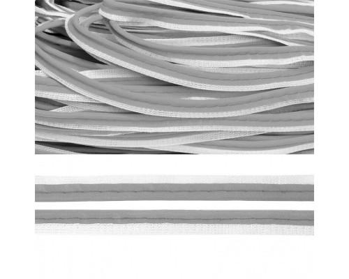 Кант СВ, 11 мм, арт. Т202 пэ 100% серый, 100 м, КНР