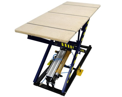 Пневматический стол для обивки мебели Rexel ST-3/KP