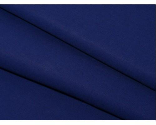 Бязь гладкокрашеная, синяя, шир. 150 см, 100 г/м2