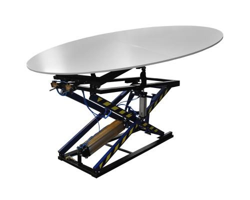 Пневматический стол для резки кожи Rexel ST-3/OS