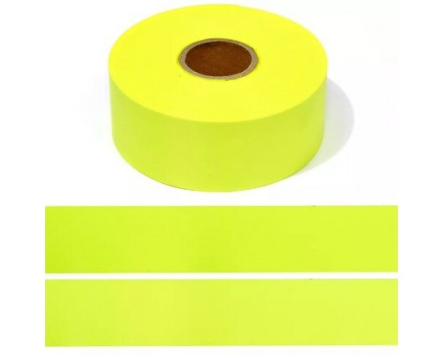 Лента СВ, 50 мм, арт. А104 пэ 100% (50cpl), рулон 100 м, лимон
