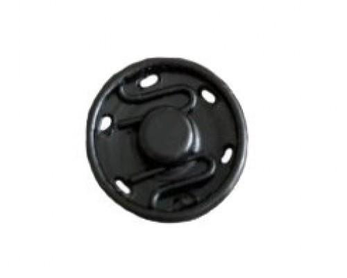 Кнопка 10 мм, потайная, оксид, упак. 250 шт