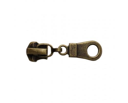 Бегунок для металла Т-5, №5310, антик, упак. 100 шт