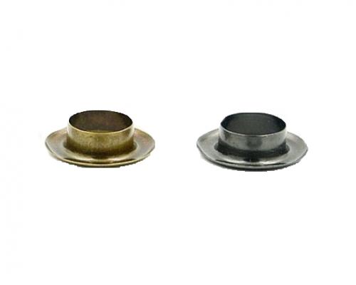 Блочка 14 мм, оксид/антик/никель, 1000 шт в 1 уп, Турция