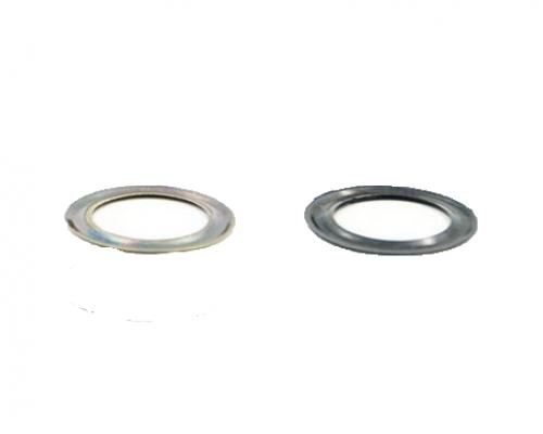 Кольцо под блочку 4 мм, никель (5000 шт), Турция
