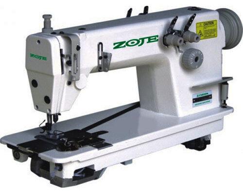Двухигольная машина двухниточного цепного стежка ZOJE ZJ3820-BD (комплект)
