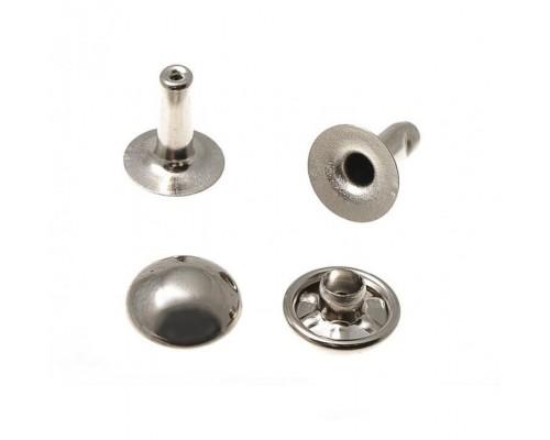 Хольнитен 7 мм, 1-сторон, арт. 8302 (антик, никель, оксид) 1000 шт, Турция