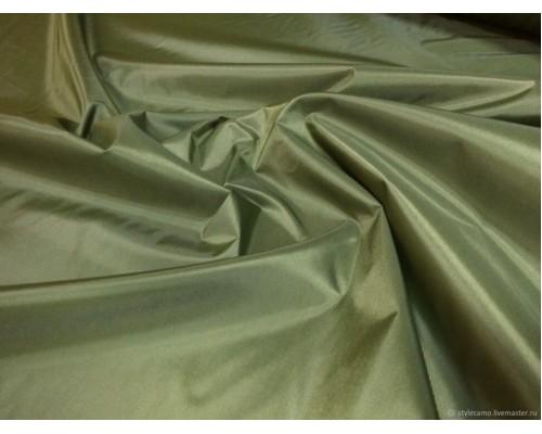 Ткань Оксфорд 210 PU-milky, 110 г/кв.м, хаки