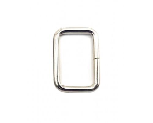 Рамка 20х13 мм, никель
