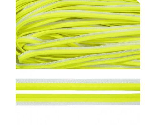 Кант СВ, 10 мм, арт. М04, 100 м, нейлон, цв. 229-лимон
