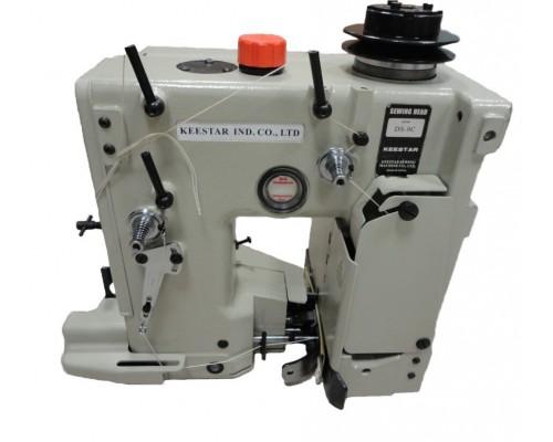 Мешкозашивочная головка Keestar DS-9 c автоматической обрезкой нити на воздухе + Keestar A1-PB Устройство для держания головки с приводом и электроникой + Keestar BF100Z(CP4900)  Устройство подгиба и протяжки мешка